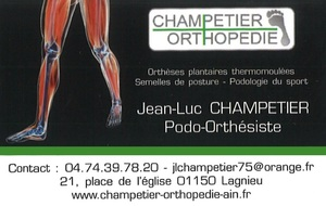 CHAMPETIER ORTHOPEDIE